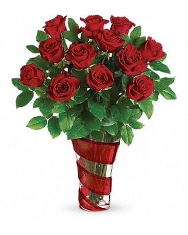 Teleflora's Dancing In Roses Bouquet Custom product