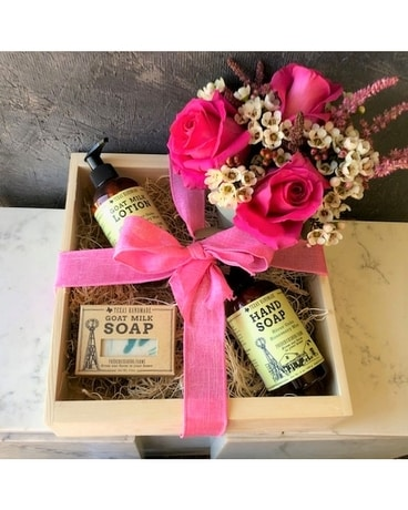 Lotion & Soap Gift Box