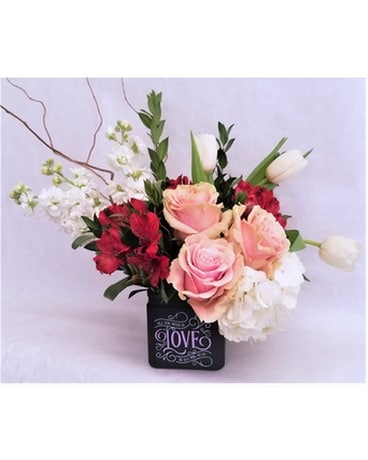 All You Need is Love Vase