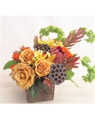 Fall Fresh Flower Arrangement