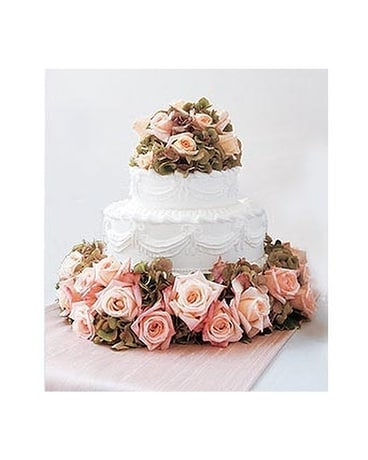 Sweet Vision Wedding Cake