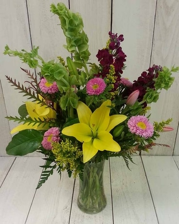 Lovely Day Flower Arrangement