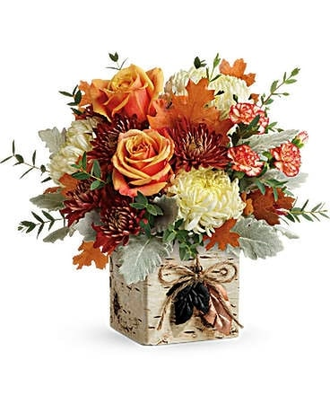 Teleflora's Fall In Bloom Bouquet Flower Arrangement