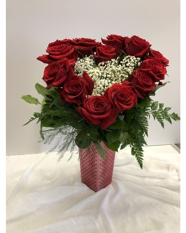 hearts of hearts Flower Arrangement