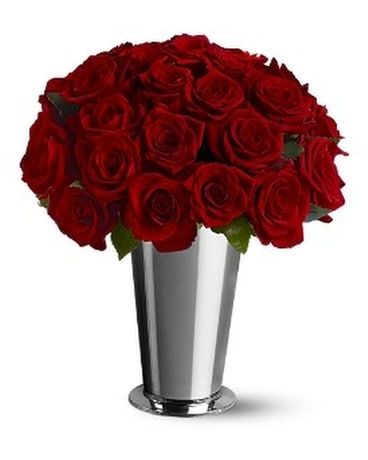 24 Classic Roses Flower Arrangement