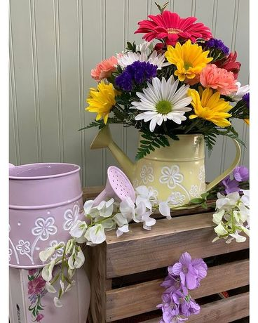Spring Rain Flower Arrangement