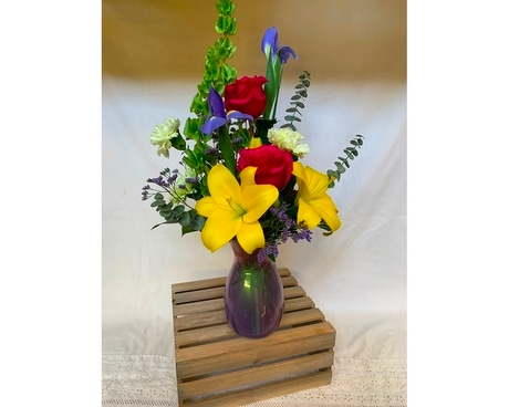 Sweet Serenity Flower Arrangement