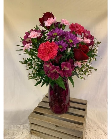 Country Love Flower Arrangement