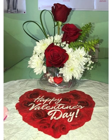 Valentine Special Flower Arrangement
