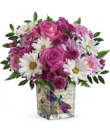 teleflora's wildflower in flight Flower Arrangement