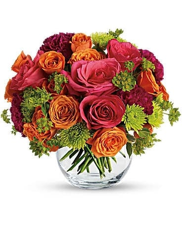 Teleflora's smile for me Flower Arrangement