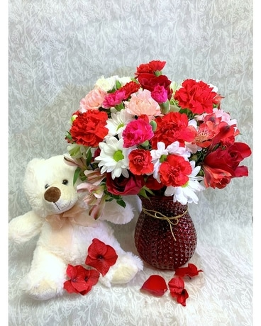 Hugs Forever Flower Arrangement