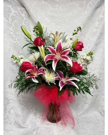 Raleigh florist flower delivery by gingerbread house florist blooming romance mightylinksfo