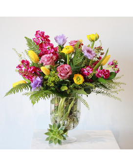 Soft Embrace Flower Arrangement