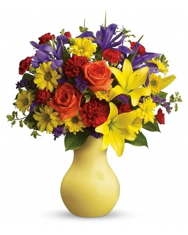 Start the Party Bouquet by Teleflora Flower Arrangement