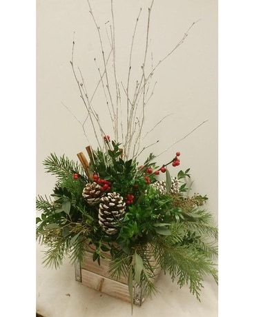 Winter Charm Flower Arrangement