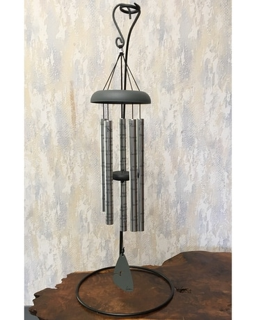 Always Near Memorial Wind Chimes with Stand