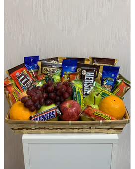 Grab n' Go Fruit and Snack Basket