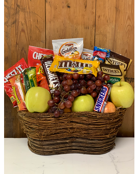 Sweet & Salty with Fresh Fruit Basket