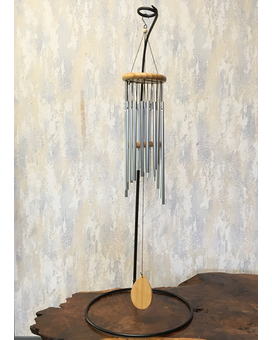 Timeless Metal Wind Chimes on Stand Gifts