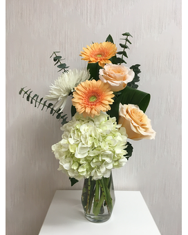 Peachy Paragon Flower Arrangement