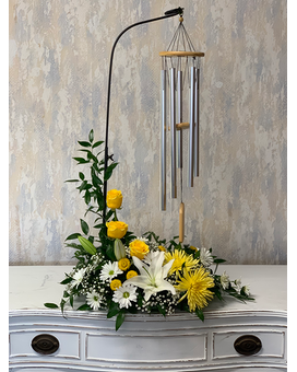 Cherished Chimes Flower Arrangement
