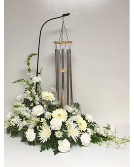 Serenity Chimes Flower Arrangement