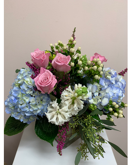 English Countryside Flower Arrangement