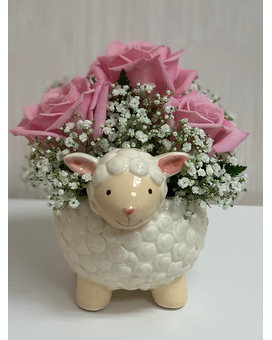 Sweetest Lamb Flower Arrangement