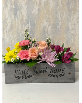 Thinking of Home Flower Arrangement