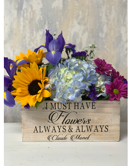 Always & Always Flower Arrangement