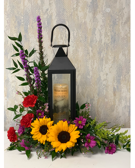 Memories Lantern Sympathy Arrangement