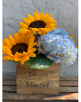 Fresh and Blooming Flower Arrangement