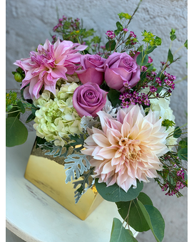 Soft Summer Flower Arrangement