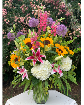 The Lux of Summer Flower Arrangement