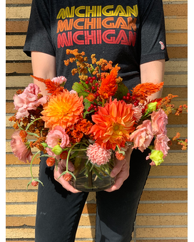 Michigan Color Tour - Bespoke Design will Vary Flower Arrangement