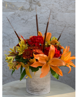 Auburn Autumn Flower Arrangement