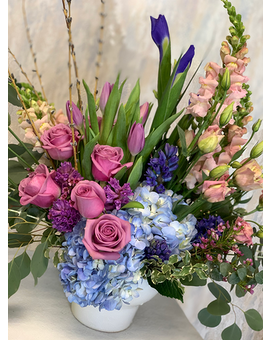Blissful Spring Flower Arrangement