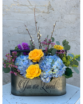 You Are Loved Flower Arrangement