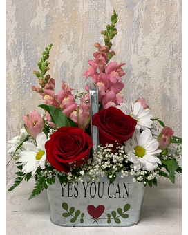 Yes You Can Flower Arrangement