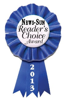 News-Sun Reader's Choice Award 2013