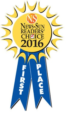 News-Sun Reader's Choice Award 2016 - First Place
