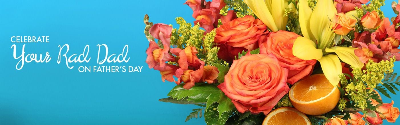Deliver Love with Flowers For The Best Dad!