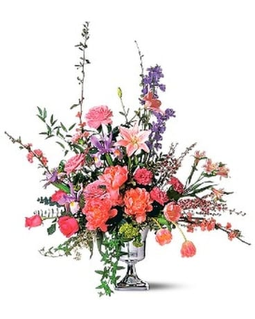 Classic Spring Bouquet Flower Arrangement