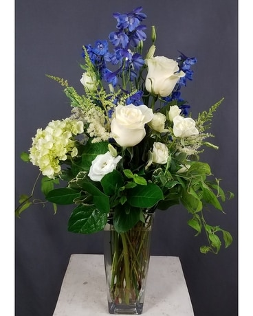 Perfect in blue Flower Arrangement