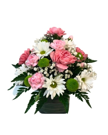 Pink and white delight Flower Arrangement