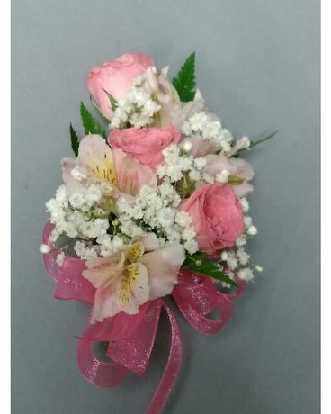 Corsages and boutonnieres delivery chicago il la salle flowers quick view pink white corsage mightylinksfo