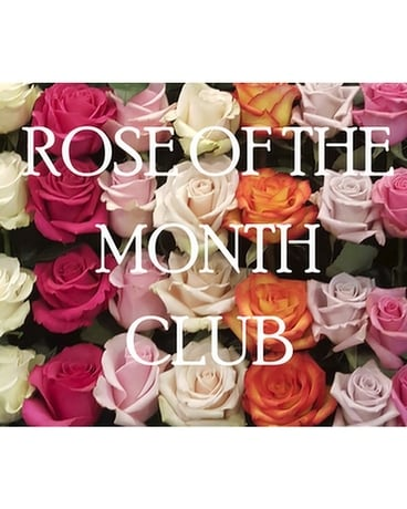 Rose of the Month Club Flower Arrangement