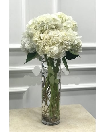 Tall Hydrangea Bouquet Flower Arrangement