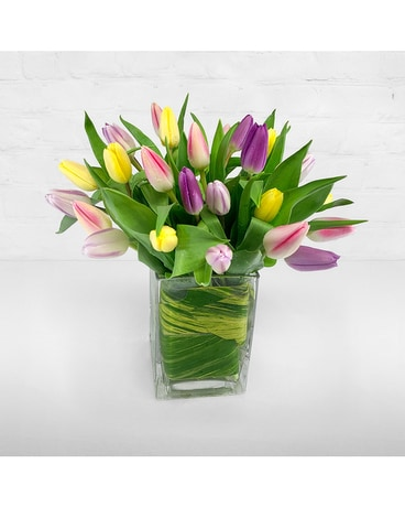 Tulips Flower Arrangement